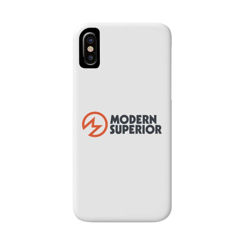 Modern Superior Logo Accessories Phone Case by Modern Superior