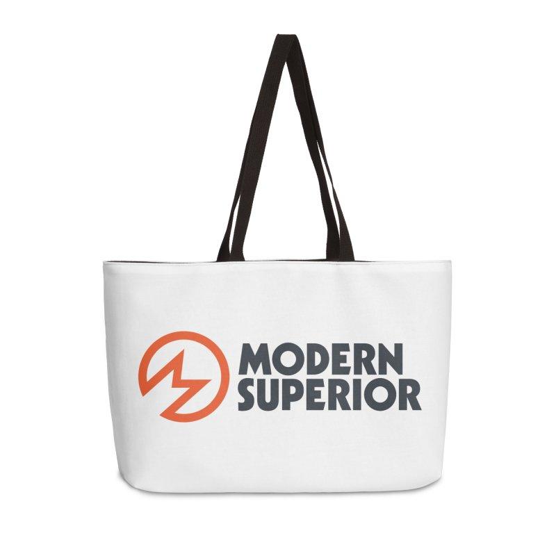 Modern Superior Logo Accessories Weekender Bag Bag by Modern Superior