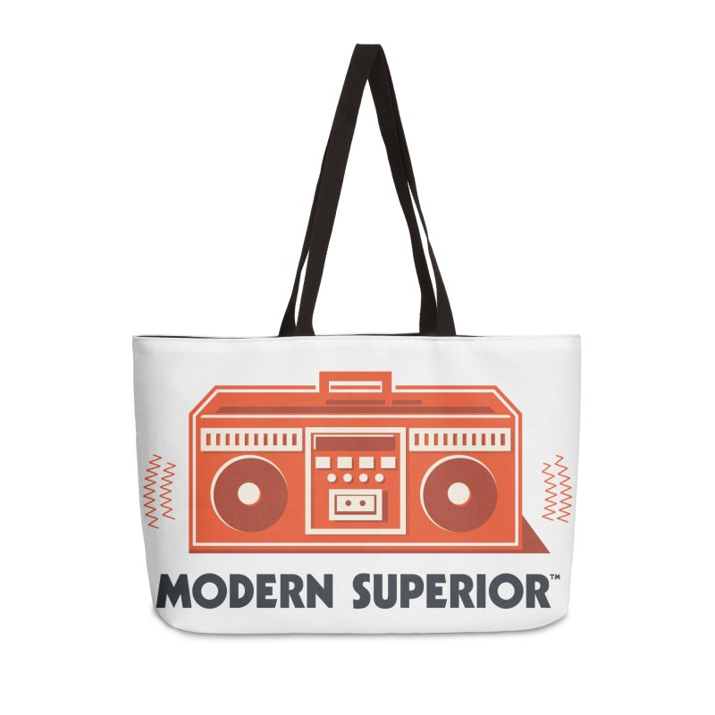 ModSup Boombox in Weekender Bag by Modern Superior