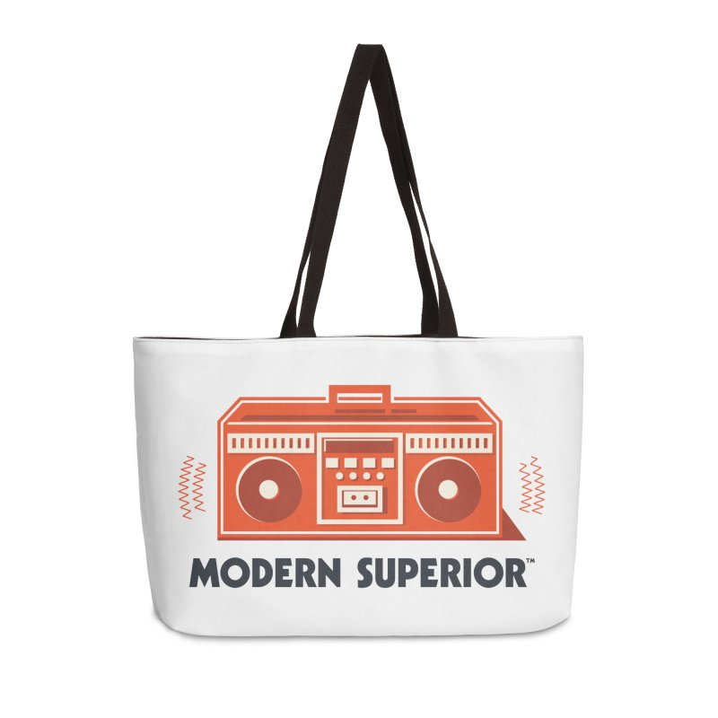 ModSup Boombox Accessories Weekender Bag Bag by Modern Superior