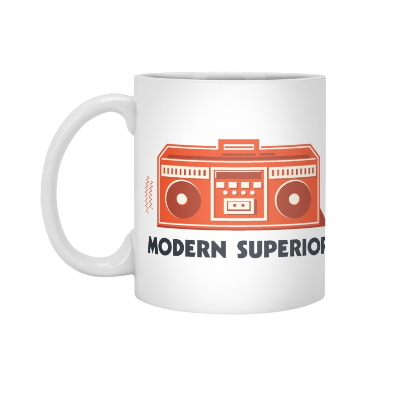 ModSup Boombox Accessories Mug by Modern Superior