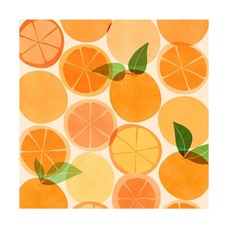 Sunny Oranges Home Framed Fine Art Print by Modern Tropical's Shop