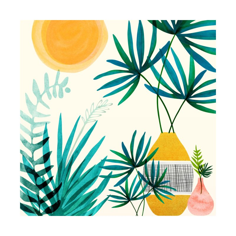 Moroccan Garden Home Fine Art Print by Modern Tropical's Shop