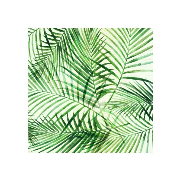 Design for Green Palm Pattern