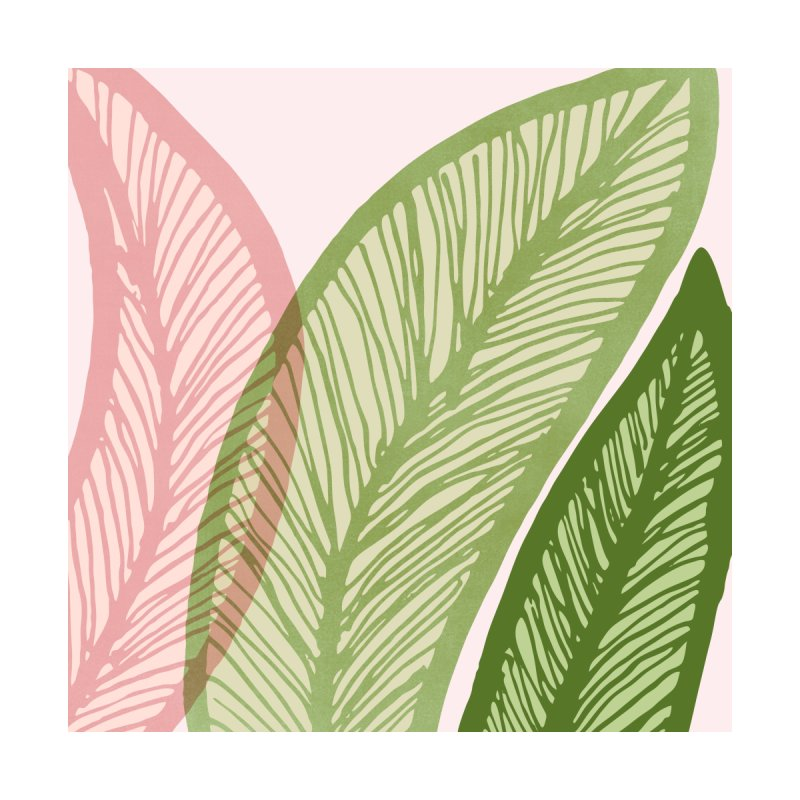 Modern Banana Leaf Home Fine Art Print by Modern Tropical's Shop