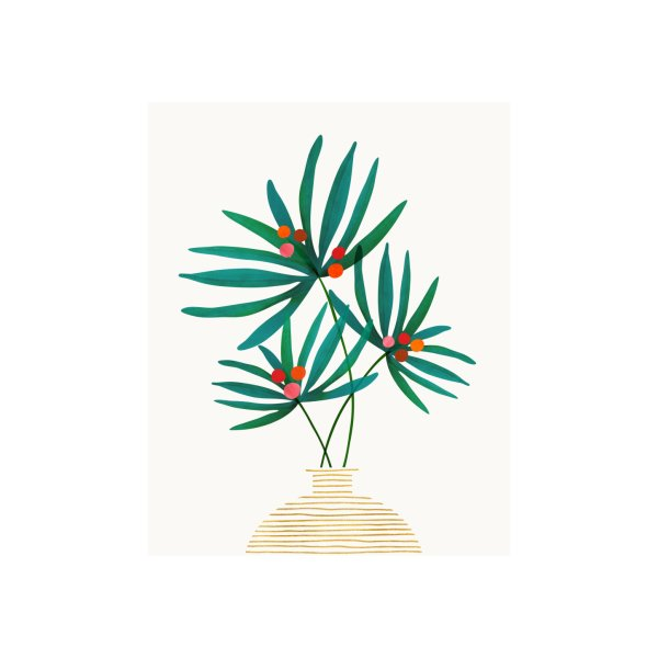 image for Festive Holiday Palm