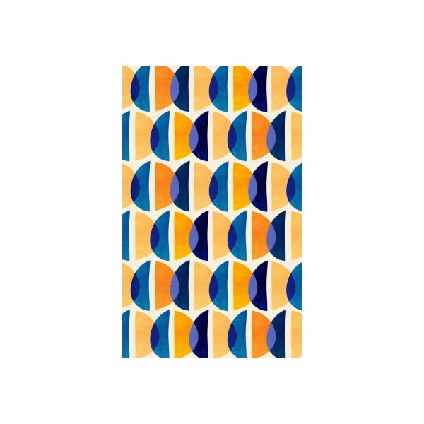 image for Gold Blue Geometric