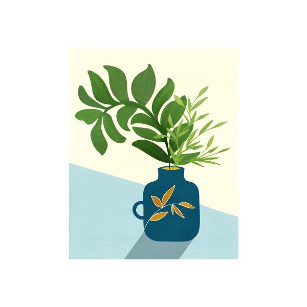 image for Vintage Window Garden Botanical Illustration