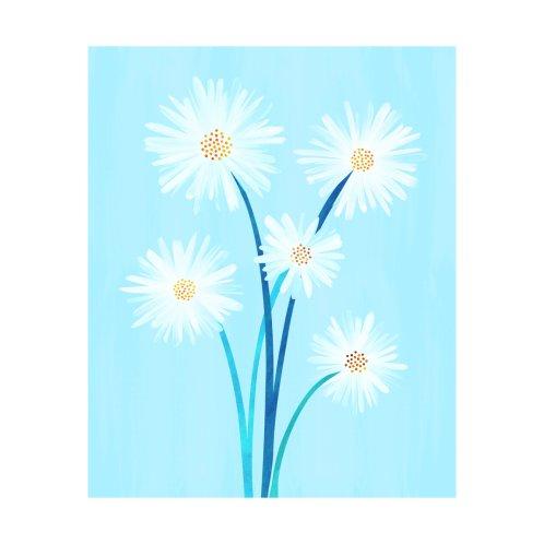 Design for Bouquet and Blue Sky - Floral Illustration