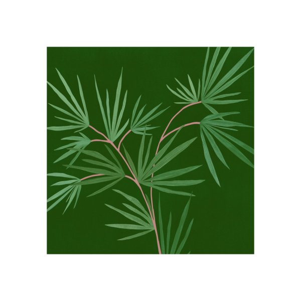 image for Emerald Green Abstract Palm 2