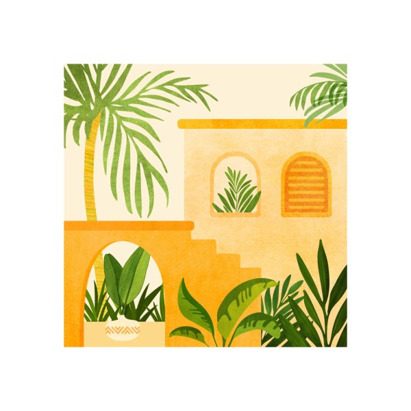 image for Garden Hacienda Tropical Landscape