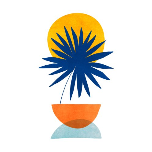 Design for Mid Century Tropical Sunset