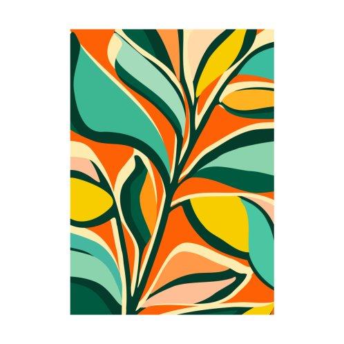 Design for Mid Century Floral Festival