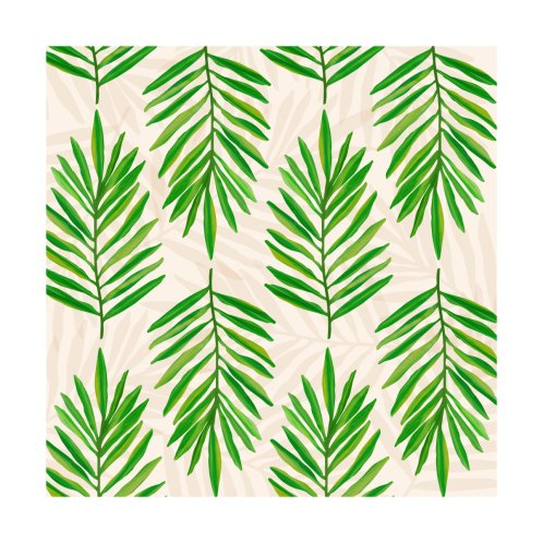 Design for Bali Palms - Tropical Plant Pattern