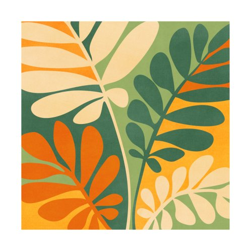 Design for Retro Earthy Floral