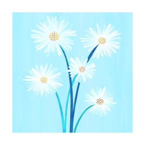 Design for Sky Blue Daisy Bouquet