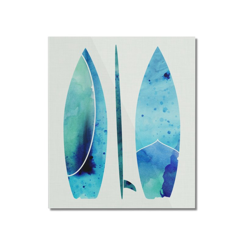 Submerged Home Mounted Acrylic Print by Modern Tropical's Shop
