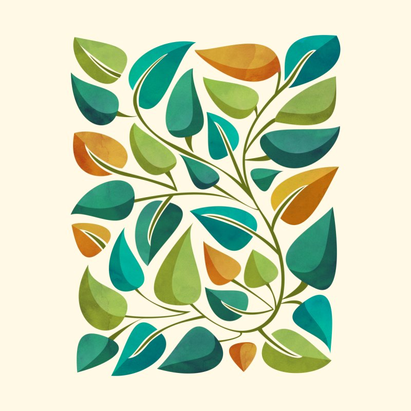 Mid Century Tropical Flora by Modern Tropical's Shop
