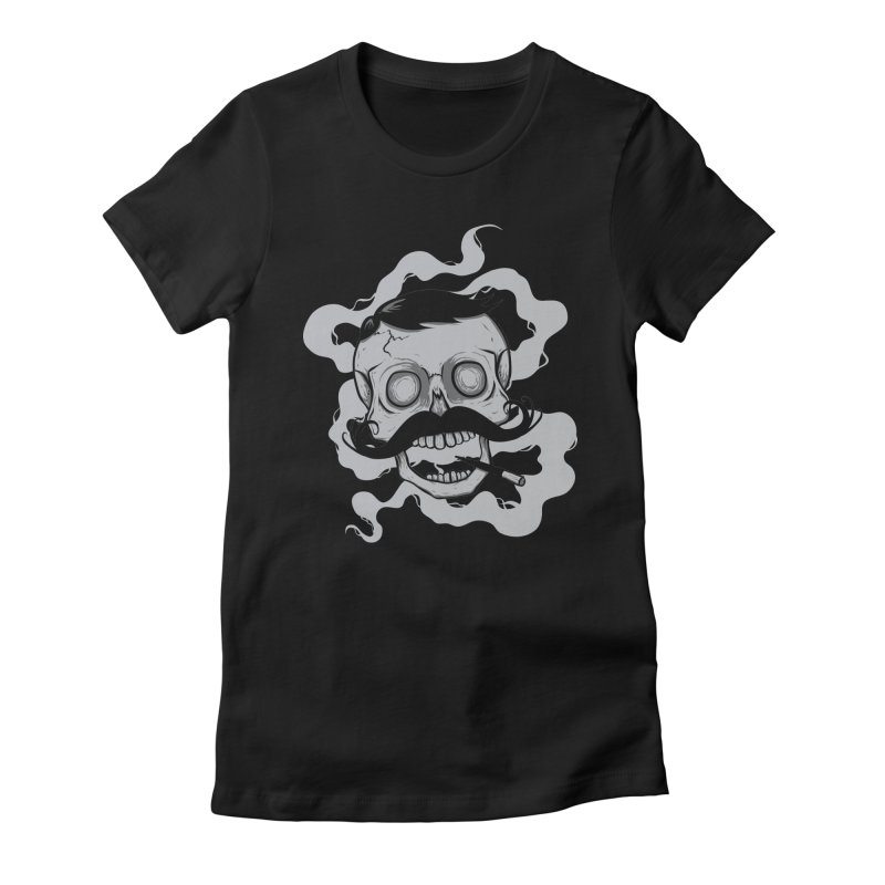 Stay Classy Women's Fitted T-Shirt by modernwizard's Artist Shop