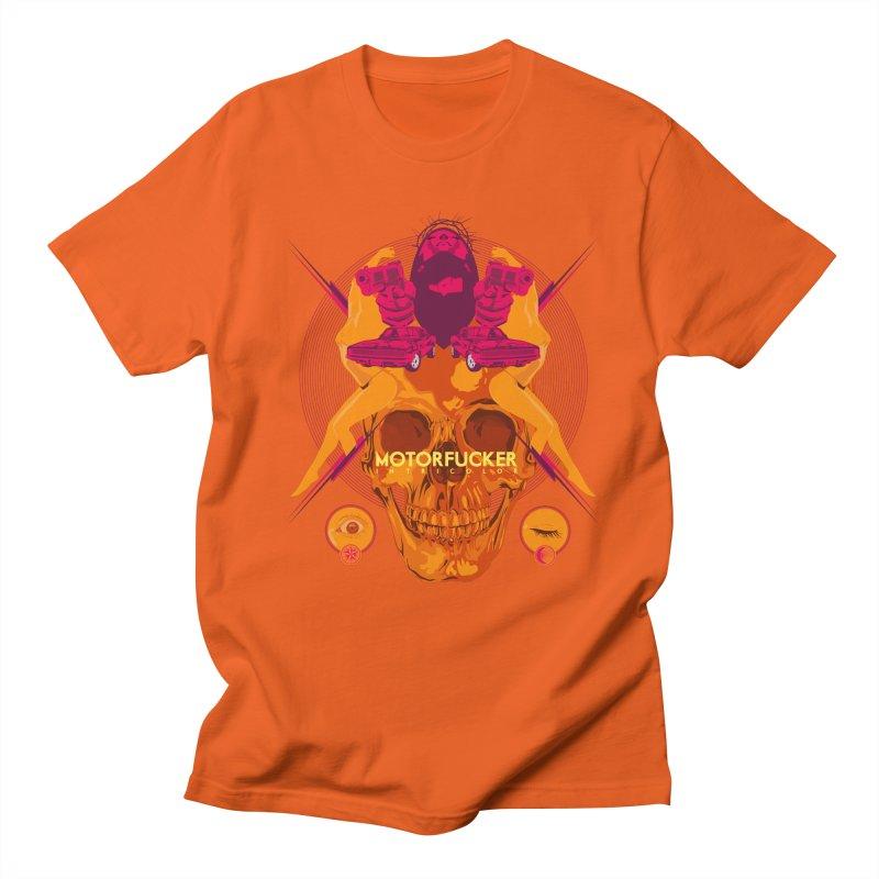 Motorfucker in Tricolor Men's T-Shirt by