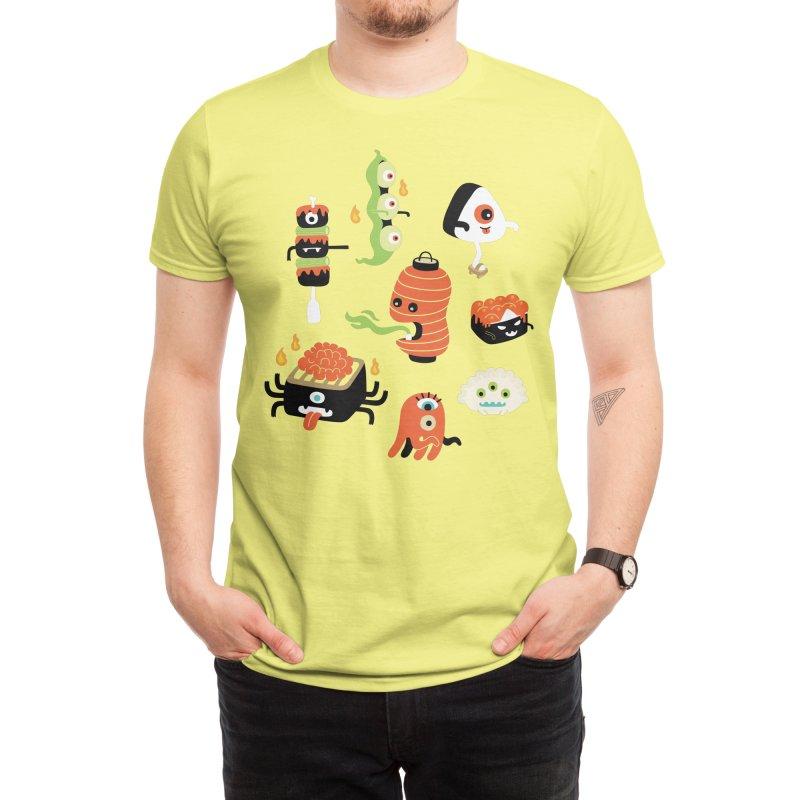 Izakaya Monsters Men's T-Shirt by Mogu Mogu