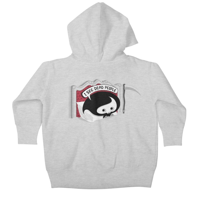 occupational hazard Kids Baby Zip-Up Hoody by mohacsy's shop of witchcraft, wizardry and art:)