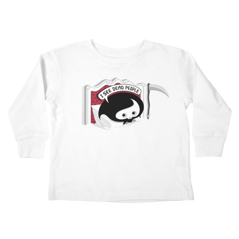 occupational hazard Kids Toddler Longsleeve T-Shirt by mohacsy's shop of witchcraft, wizardry and art:)