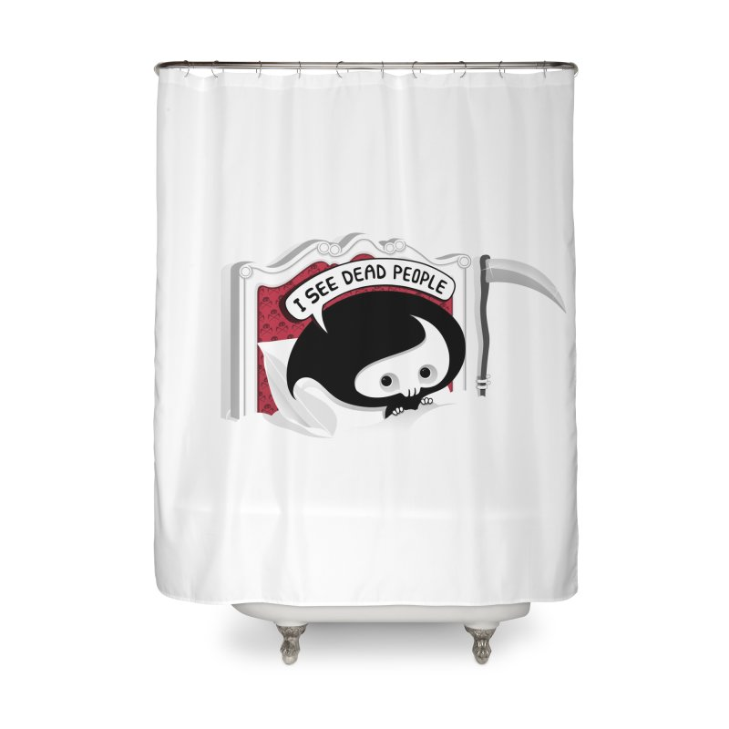 occupational hazard Home Shower Curtain by mohacsy's shop of witchcraft, wizardry and art:)