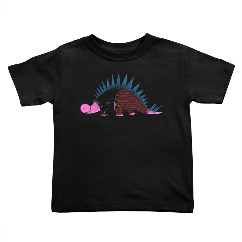 Punkosaurus Kids Toddler T-Shirt by mohacsy's shop of witchcraft, wizardry and art:)