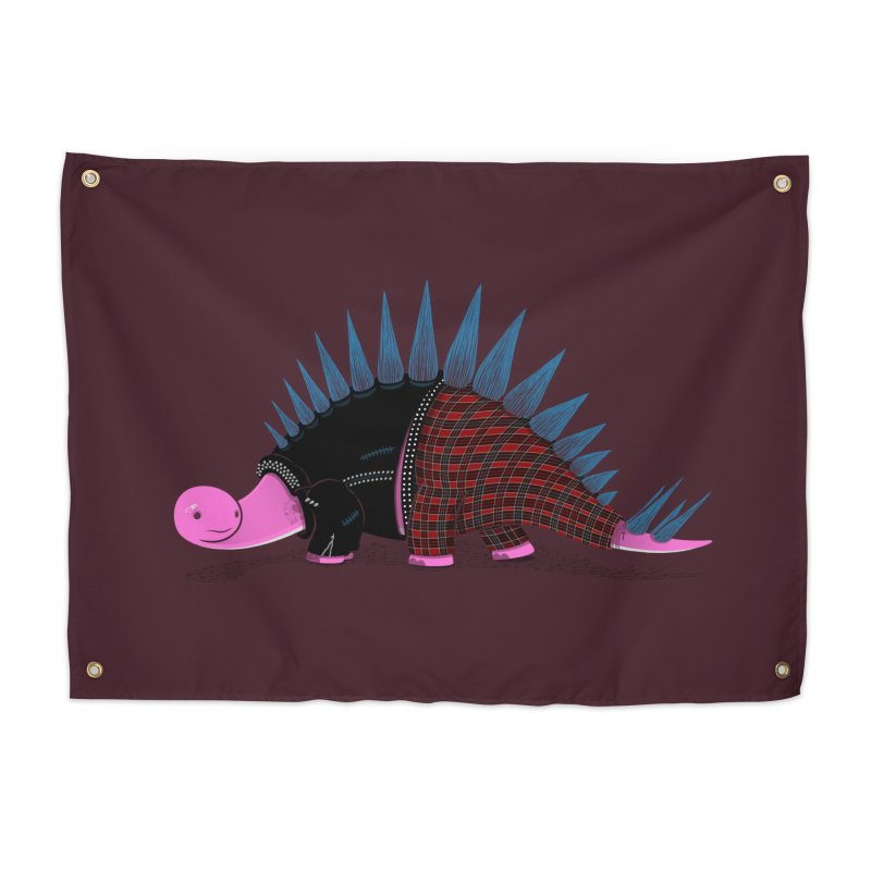 Punkosaurus Home Tapestry by mohacsy's shop of witchcraft, wizardry and art:)