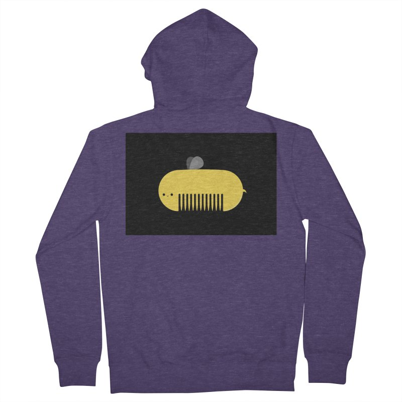 honeycomb Men's Zip-Up Hoody by mohacsy's shop of witchcraft, wizardry and art:)