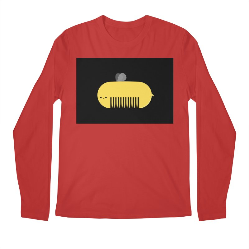 honeycomb Men's Longsleeve T-Shirt by mohacsy's shop of witchcraft, wizardry and art:)