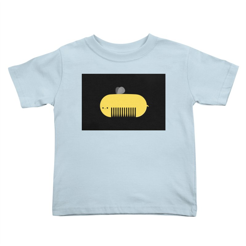honeycomb Kids Toddler T-Shirt by mohacsy's shop of witchcraft, wizardry and art:)