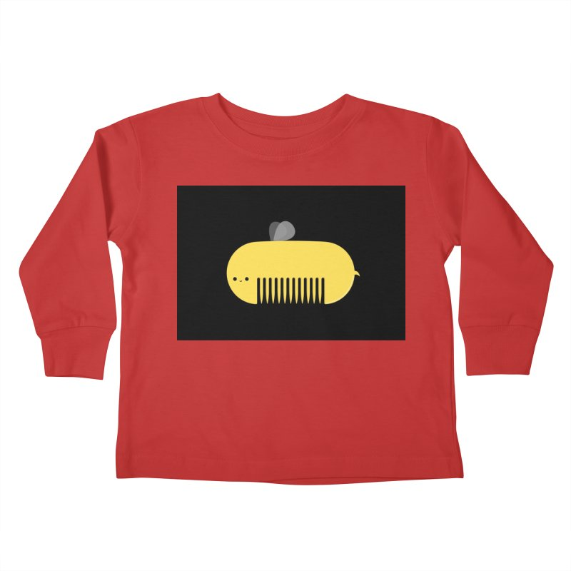 honeycomb Kids Toddler Longsleeve T-Shirt by mohacsy's shop of witchcraft, wizardry and art:)