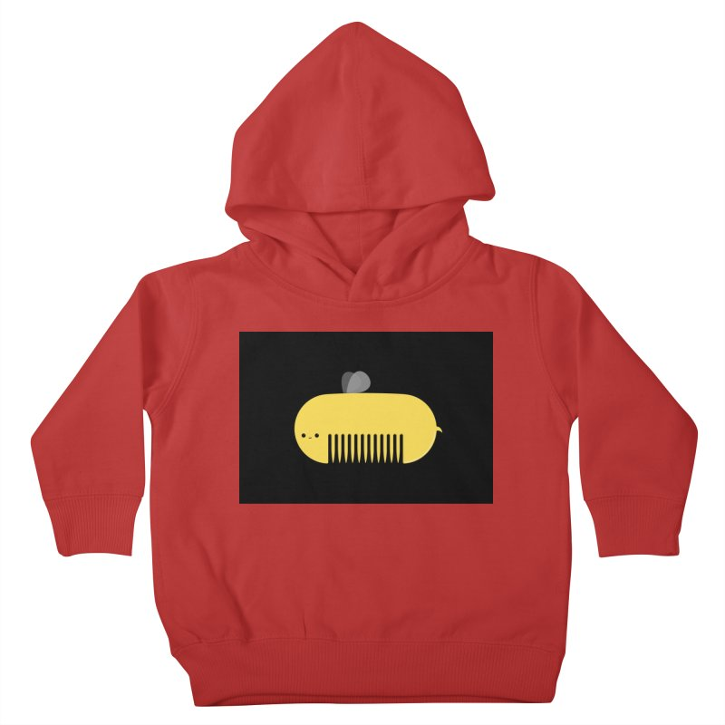 honeycomb Kids Toddler Pullover Hoody by mohacsy's shop of witchcraft, wizardry and art:)
