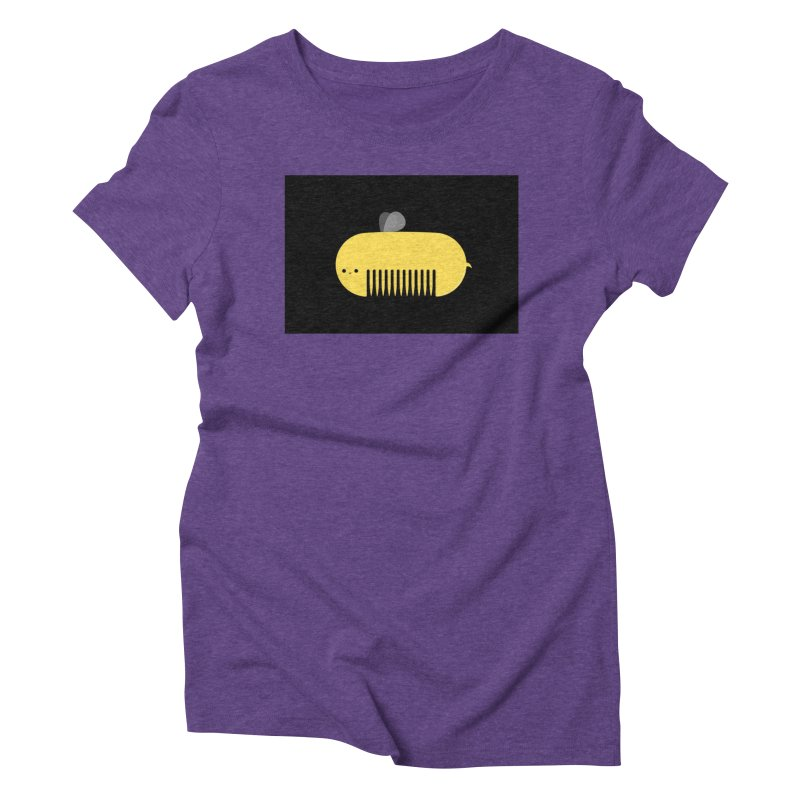 honeycomb Women's Triblend T-Shirt by mohacsy's shop of witchcraft, wizardry and art:)
