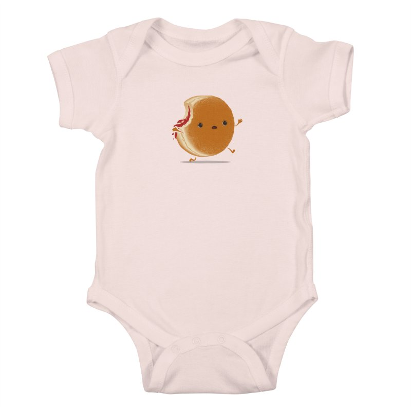 the getaway Kids Baby Bodysuit by mohacsy's shop of witchcraft, wizardry and art:)