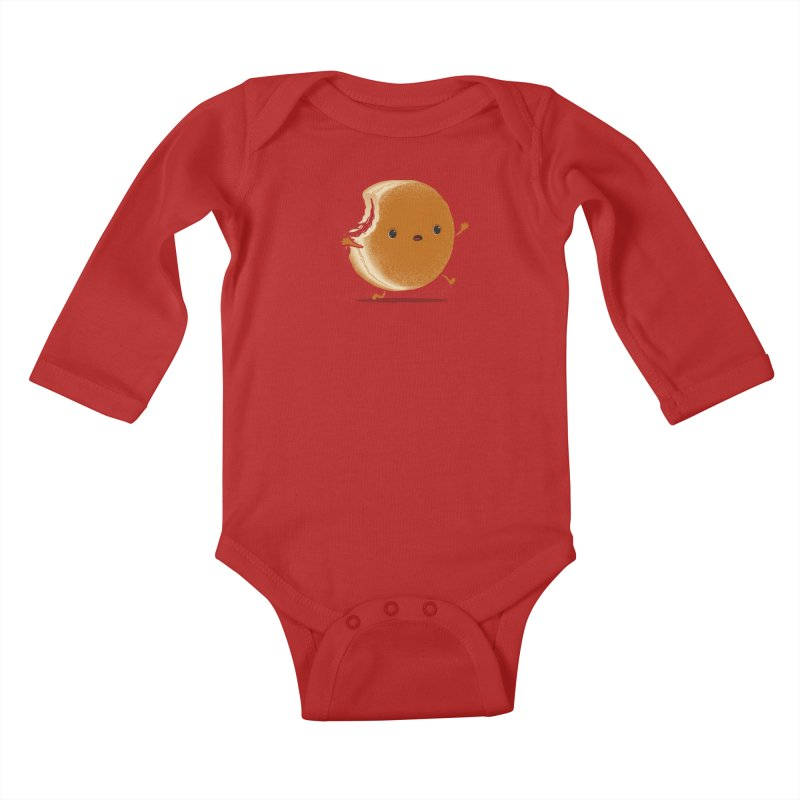 the getaway Kids Baby Longsleeve Bodysuit by mohacsy's shop of witchcraft, wizardry and art:)