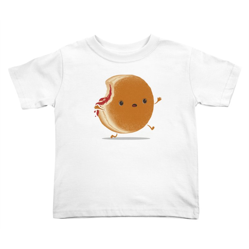 the getaway Kids Toddler T-Shirt by mohacsy's shop of witchcraft, wizardry and art:)