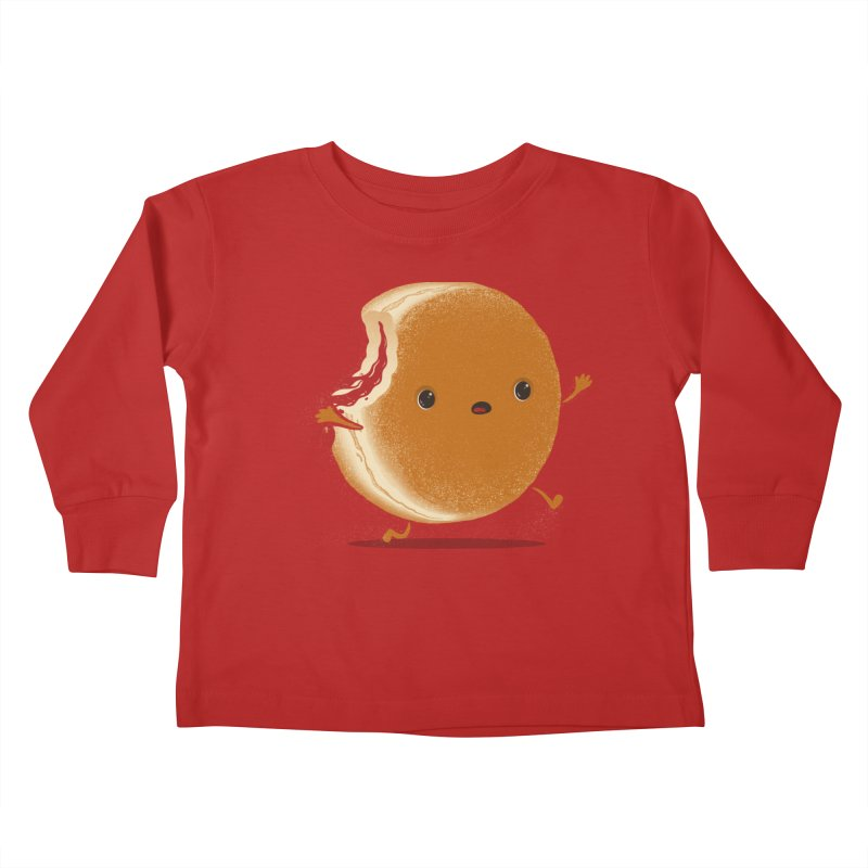 the getaway Kids Toddler Longsleeve T-Shirt by mohacsy's shop of witchcraft, wizardry and art:)