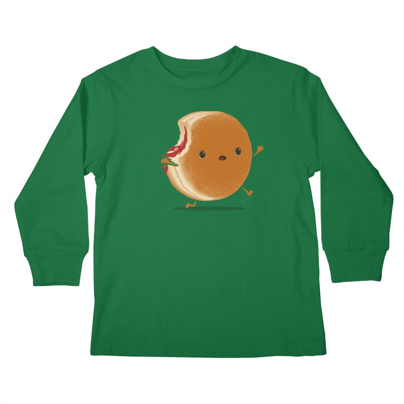 the getaway Kids Longsleeve T-Shirt by mohacsy's shop of witchcraft, wizardry and art:)