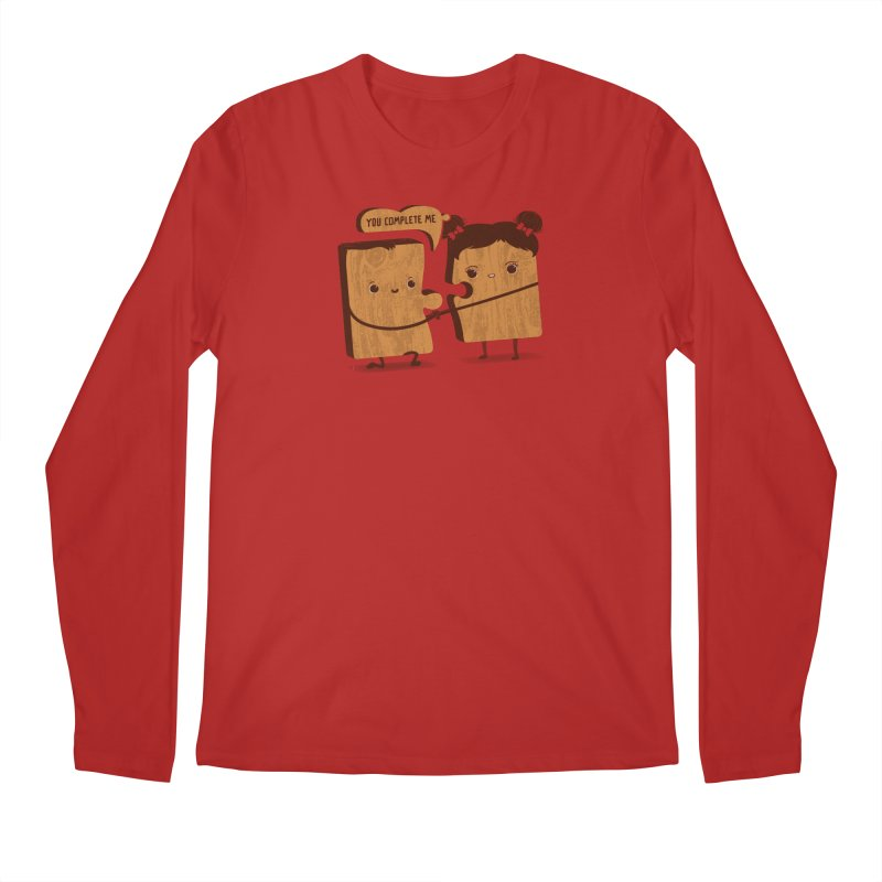 made for each other  Men's Longsleeve T-Shirt by mohacsy's shop of witchcraft, wizardry and art:)