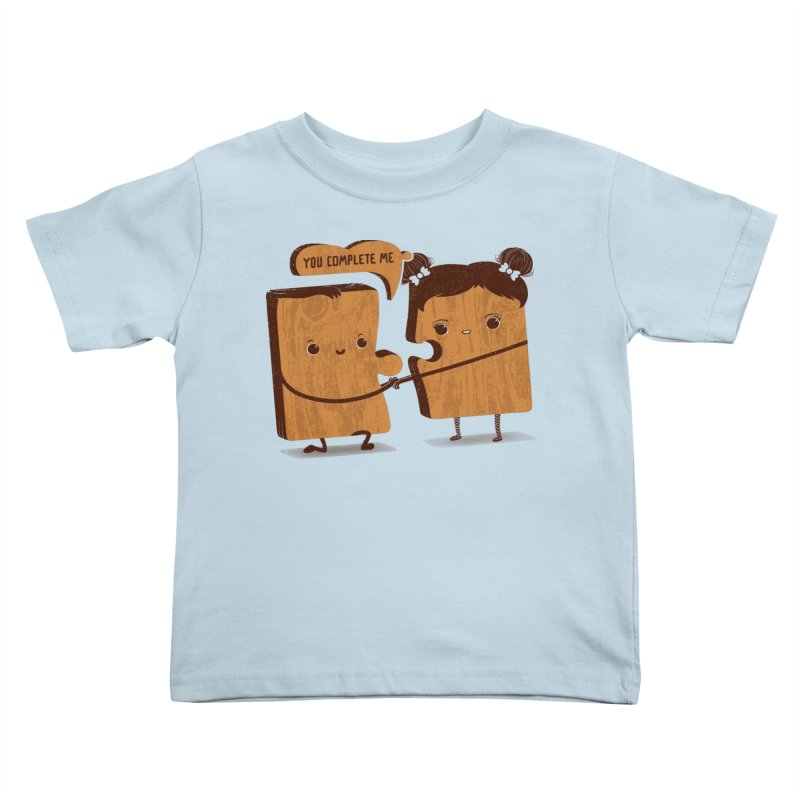 made for each other  Kids Toddler T-Shirt by mohacsy's shop of witchcraft, wizardry and art:)