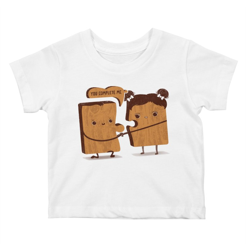 made for each other  Kids Baby T-Shirt by mohacsy's shop of witchcraft, wizardry and art:)