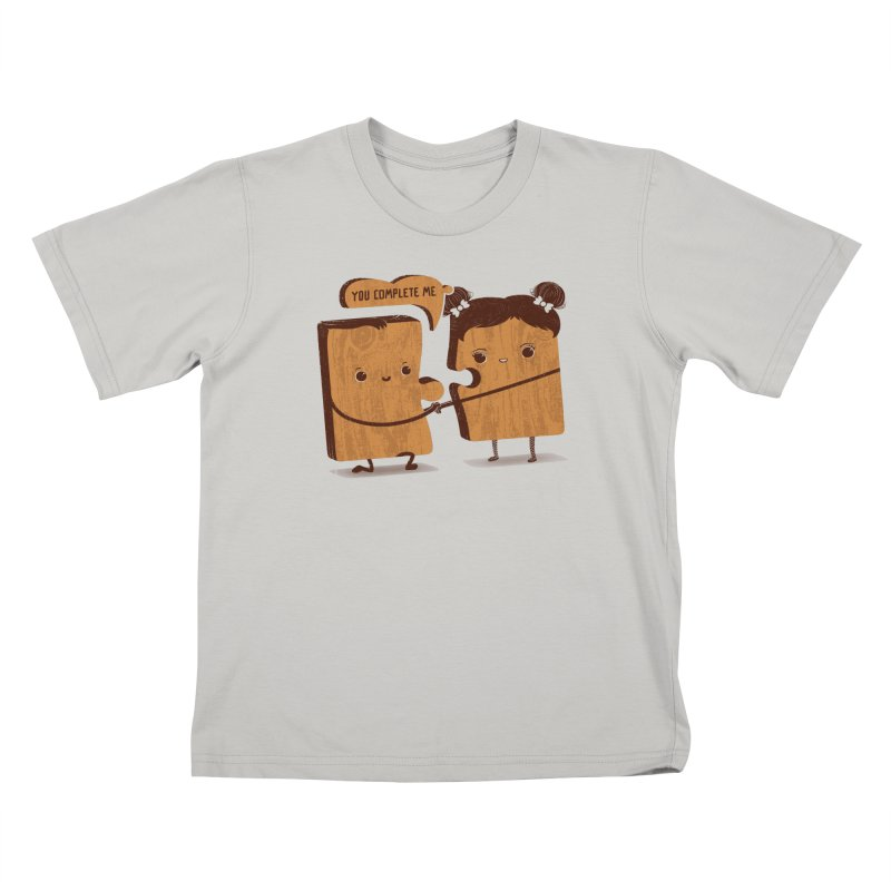 made for each other  Kids T-shirt by mohacsy's shop of witchcraft, wizardry and art:)