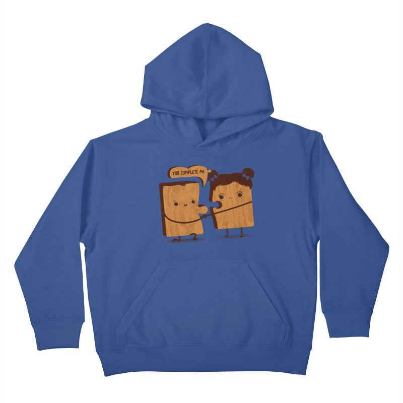 made for each other  Kids Pullover Hoody by mohacsy's shop of witchcraft, wizardry and art:)