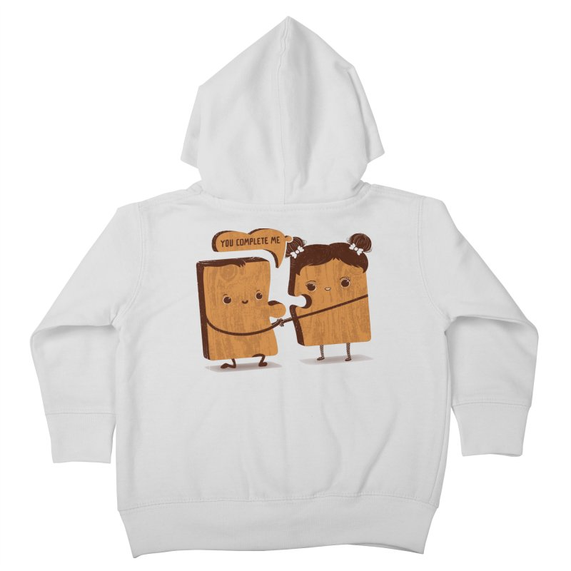 made for each other  Kids Toddler Zip-Up Hoody by mohacsy's shop of witchcraft, wizardry and art:)