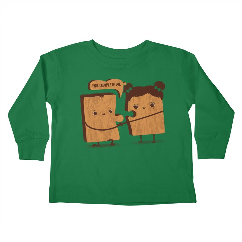 made for each other  Kids Toddler Longsleeve T-Shirt by mohacsy's shop of witchcraft, wizardry and art:)