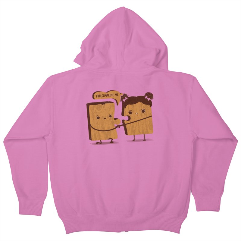 made for each other  Kids Zip-Up Hoody by mohacsy's shop of witchcraft, wizardry and art:)
