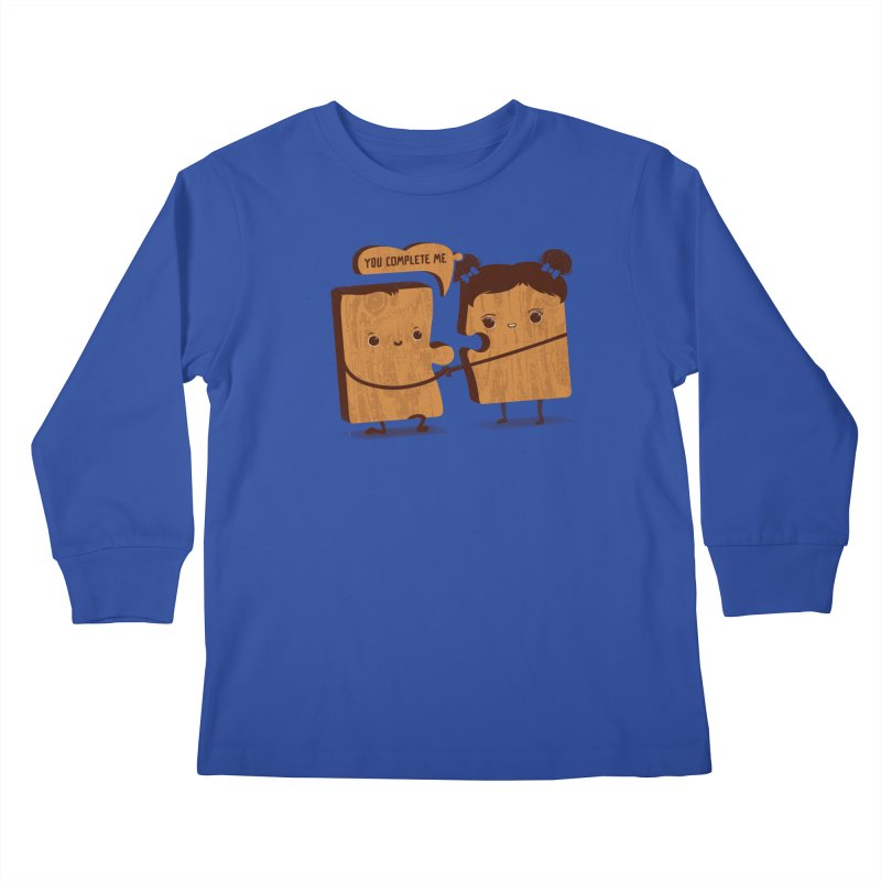 made for each other  Kids Longsleeve T-Shirt by mohacsy's shop of witchcraft, wizardry and art:)